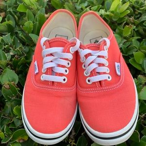 Vans Authentic Lo Pro Coral Sneaker